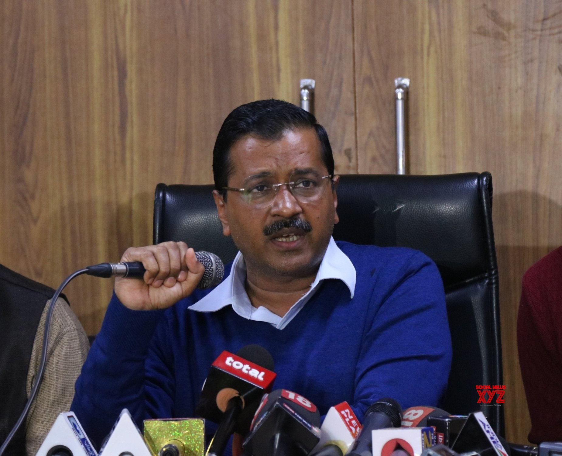 New Delhi: Arvind Kejriwal's press conference #Gallery