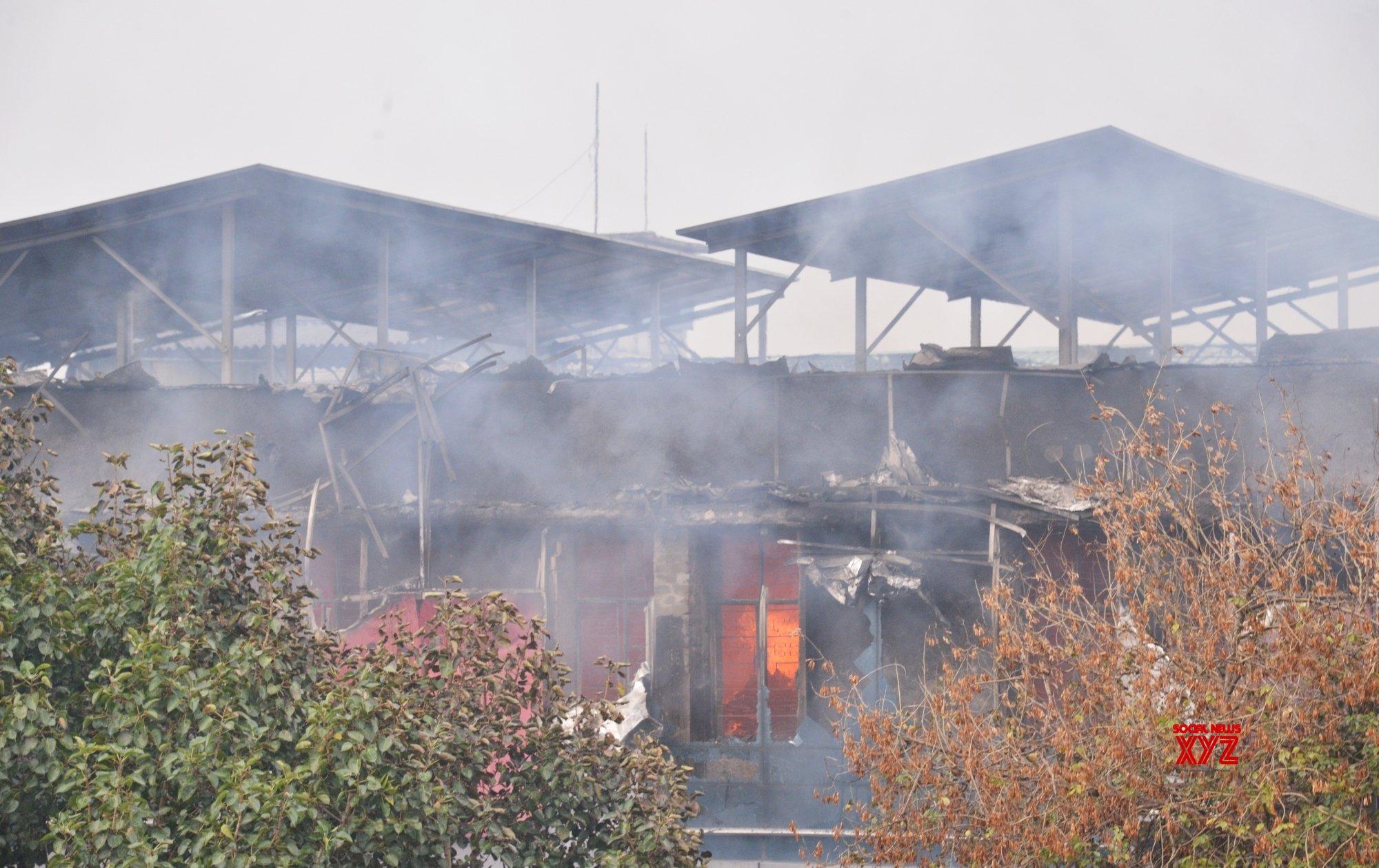 New Delhi: Fire breaks out in Delhi factory (Batch - 2) #Gallery