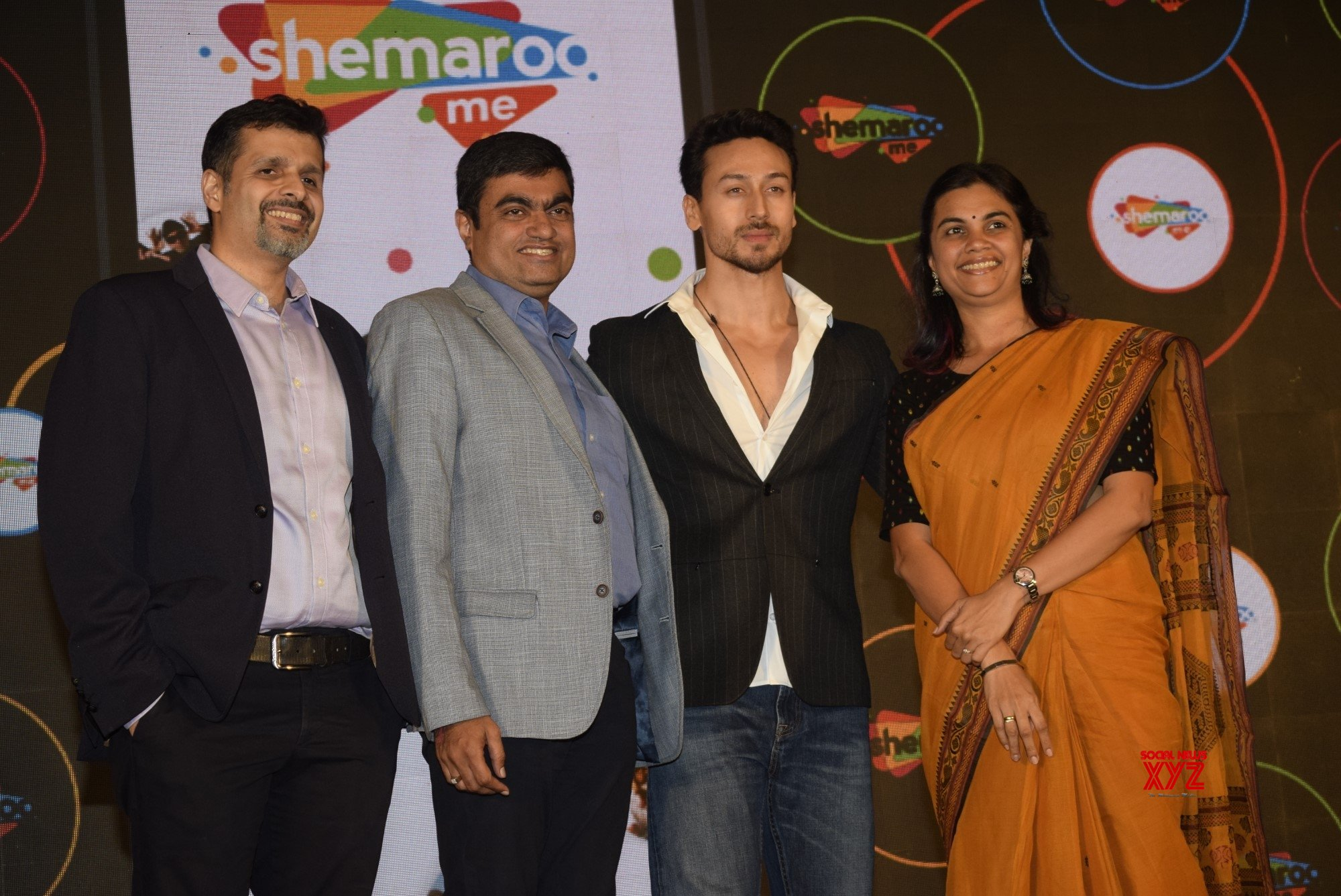 Mumbai: Tiger Shroff at ShemarooMe launch #Gallery