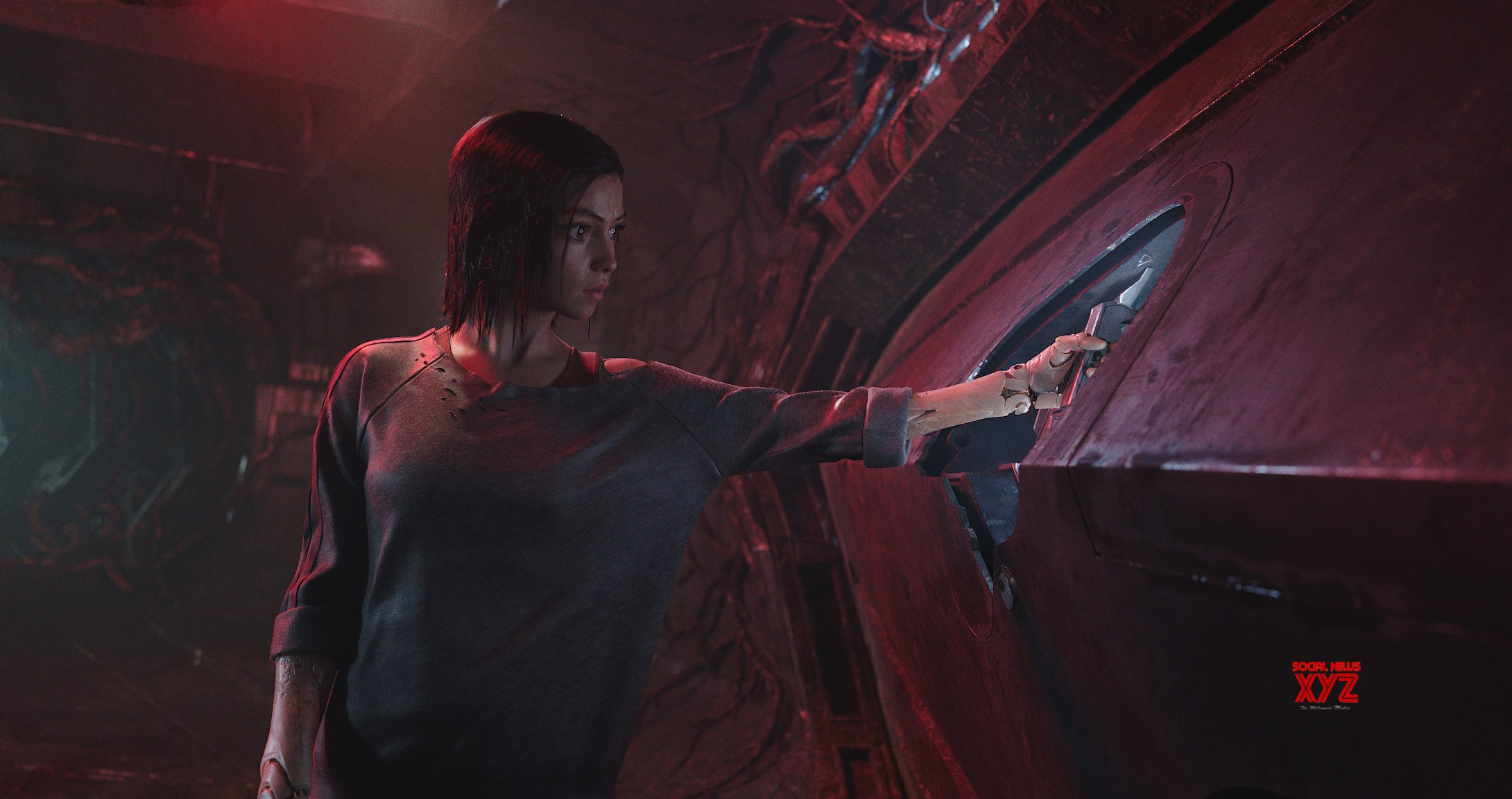 Alita Battle Angel Movie Update HD Stills