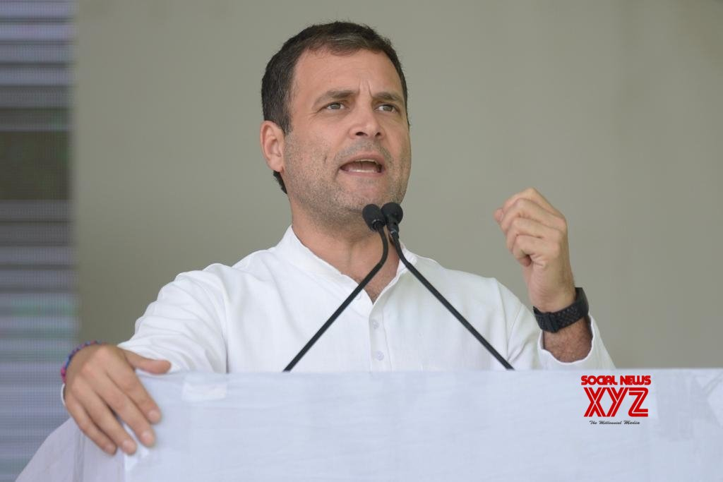 Ajmer: Rahul Gandhi at public meeting #Gallery