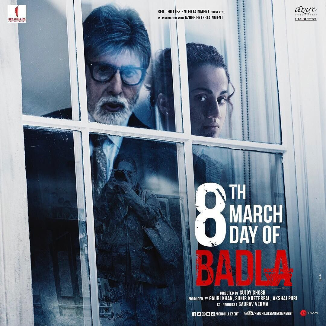 Image result for badla poster