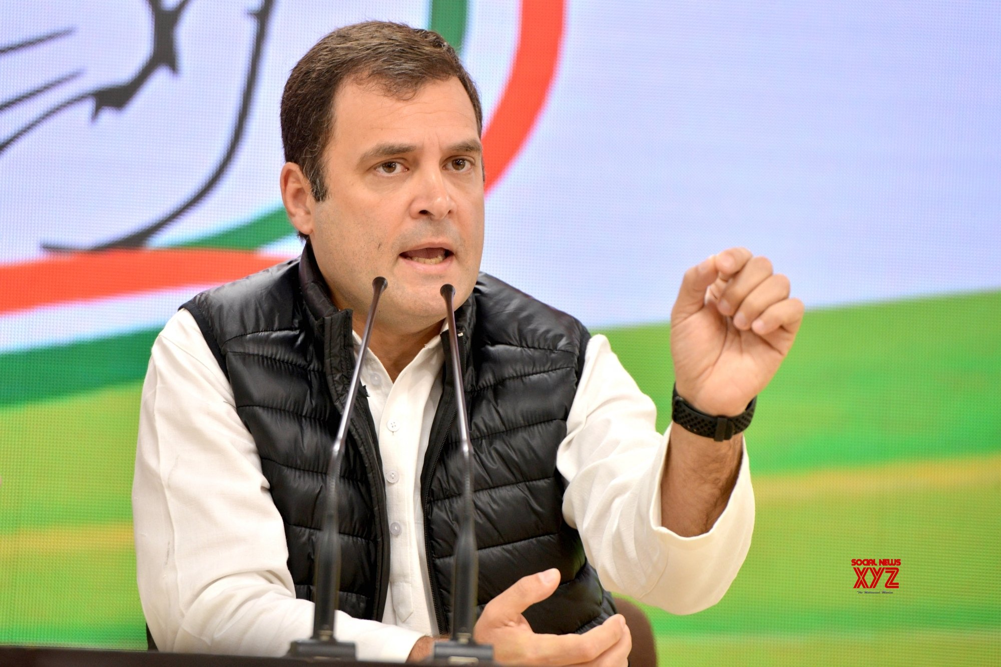 Thank BJP, RSS for letting me wage ideological battle: Rahul