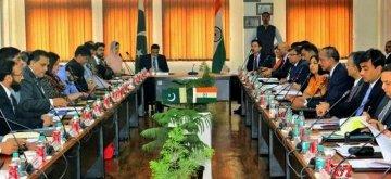 Attari: Talks between India and Pakistan to discuss and finalize the modalities for the Kartarpur Corridor at Attari in Amritsar, that'll facilitate Indian pilgrims to visit the holy shrine of Gurudwara Darbar Sahib Kartarpur, underway in Attari, Punjab on March 14, 2019. (Photo: IANS)