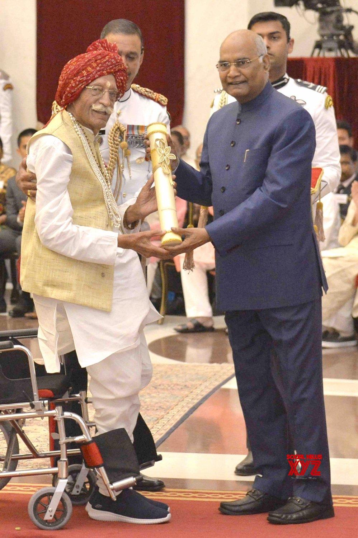 New Delhi: President Kovind presents Padma Awards - Mahashay Dharampal Gulati (Batch 14) #Gallery