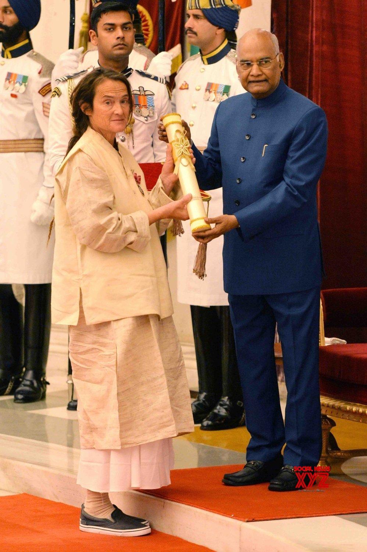 New Delhi: President Kovind presents Padma Awards - Friederike Irina Bruning #Gallery