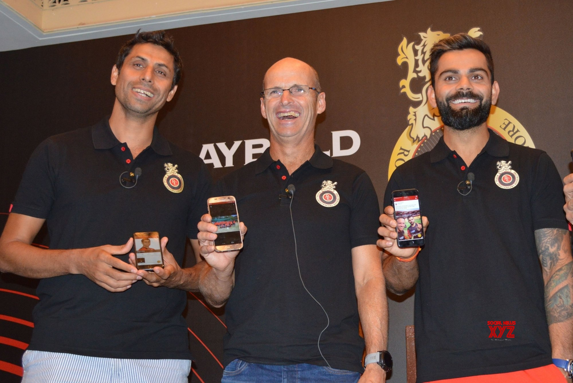 Bengaluru: Royal Challengers Bangalore launches team's mobile app #Gallery