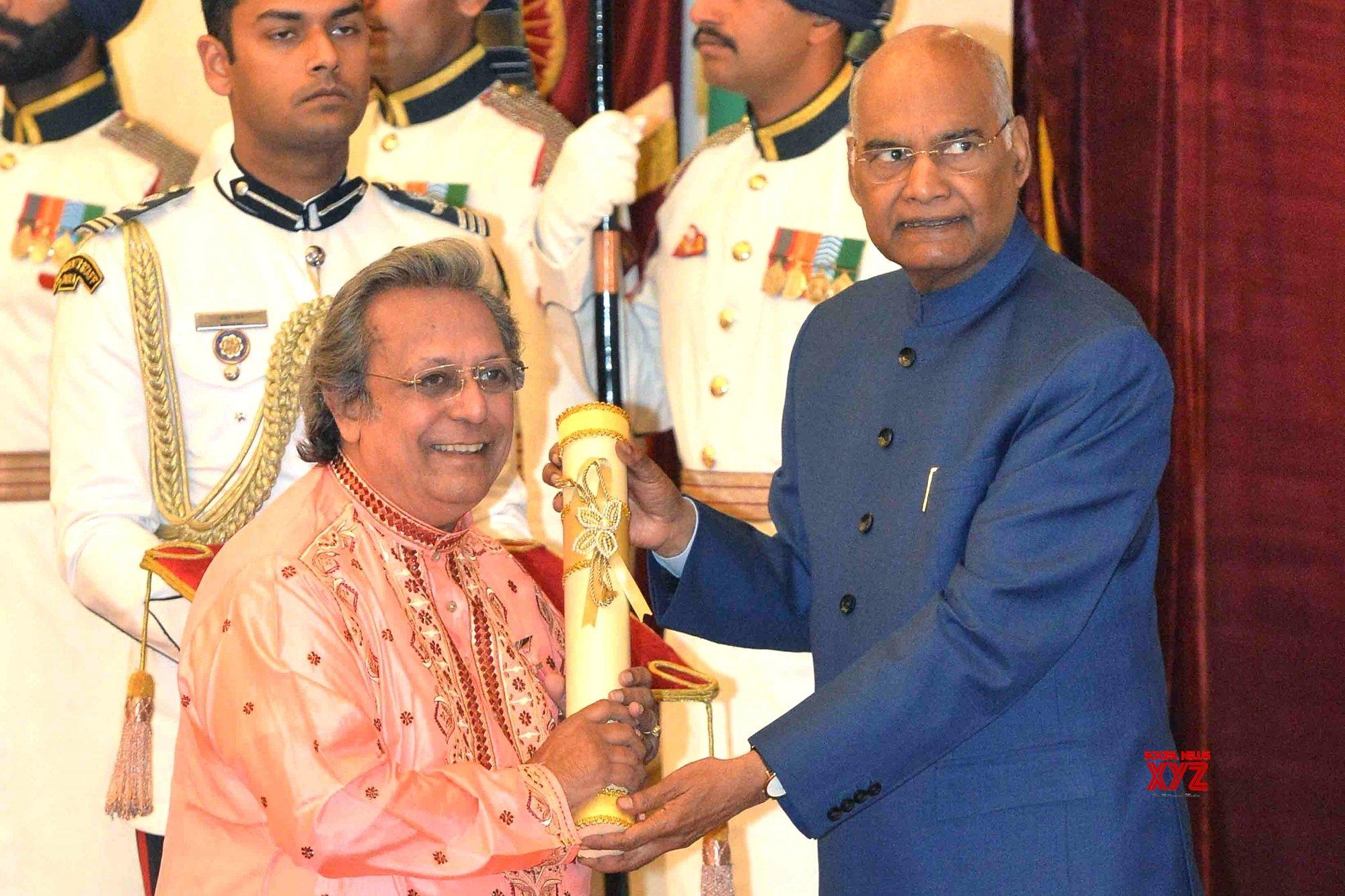 New Delhi: President Kovind presents Padma Awards - Swapan Chaudhuri (Batch 13) #Gallery