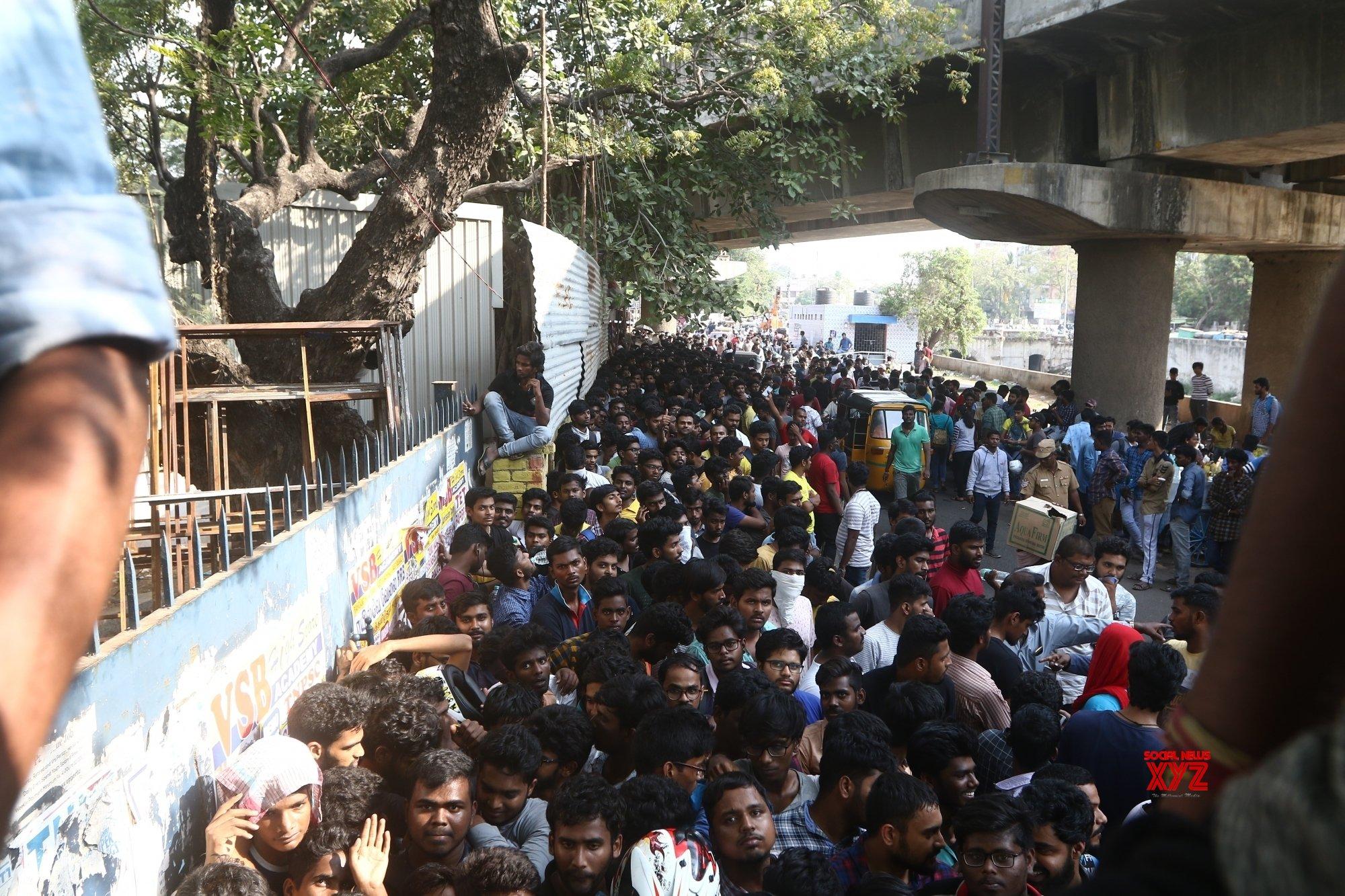Chennai: IPL ticket sale (Batch - 2) #Gallery