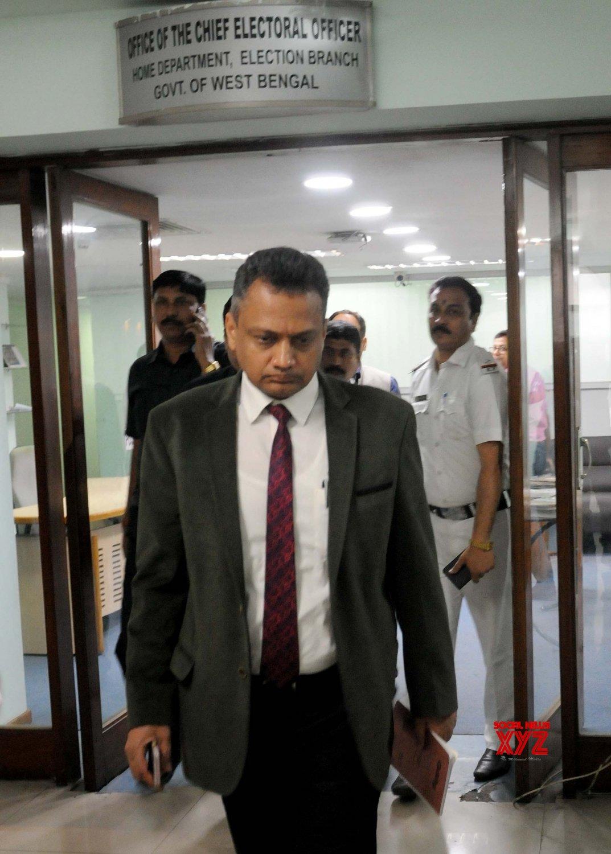 Kolkata: Sudeep Jain at Election Commission office #Gallery
