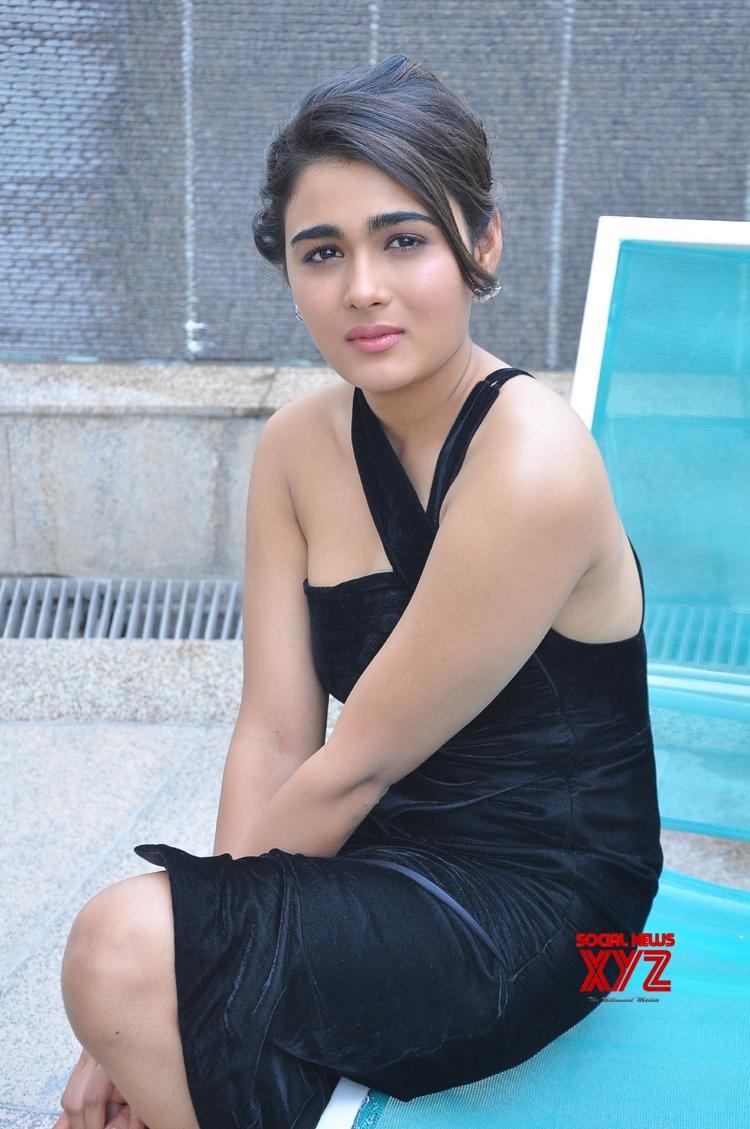 Actress Shalini Pandey Hot Stills From 118 Movie Grand Success Meet
