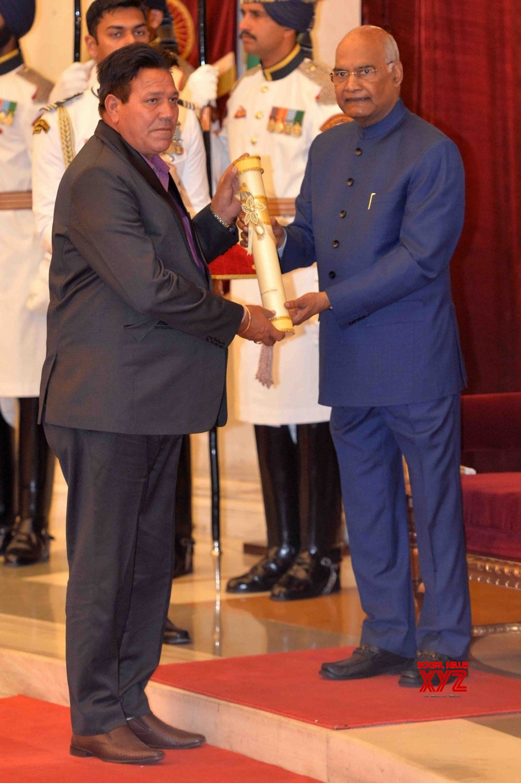 New Delhi: President Kovind presents Padma Awards - Sultan Singh #Gallery
