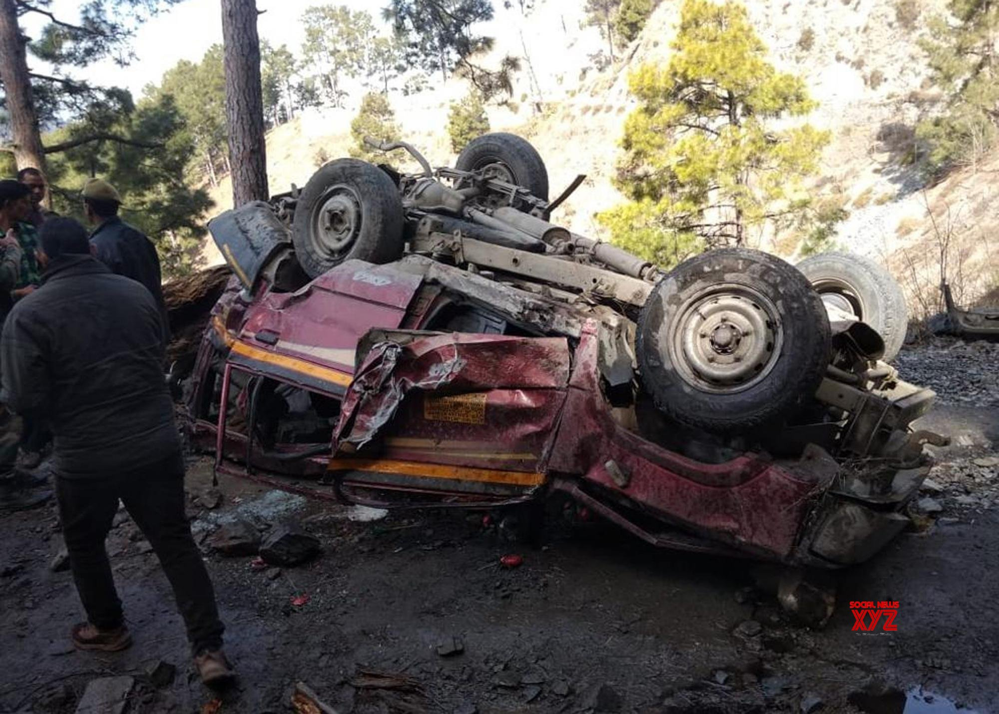 Ramban: 5 killed, 8 injured in J&K road accident #Gallery