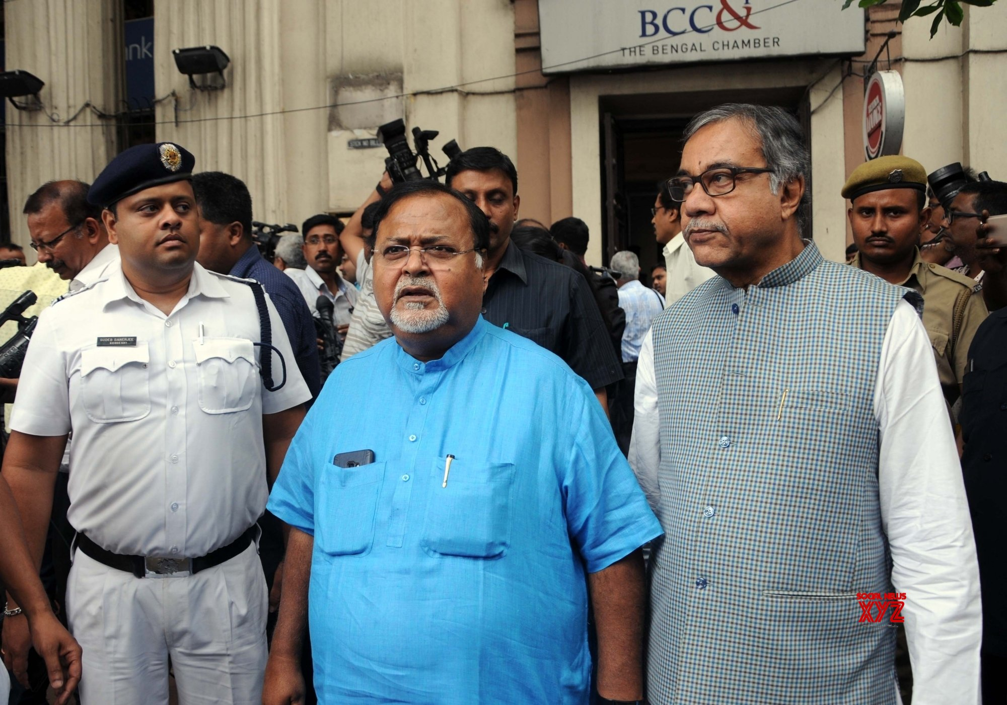 Kolkata: TMC's Partha Chatterjee meets Deputy Election Commissioner #Gallery