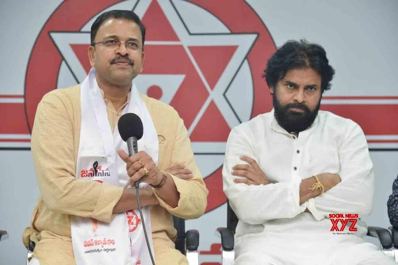 Amaravati: Ex - CBI Jt Director Lakshminarayana joins Jana Sena #Gallery