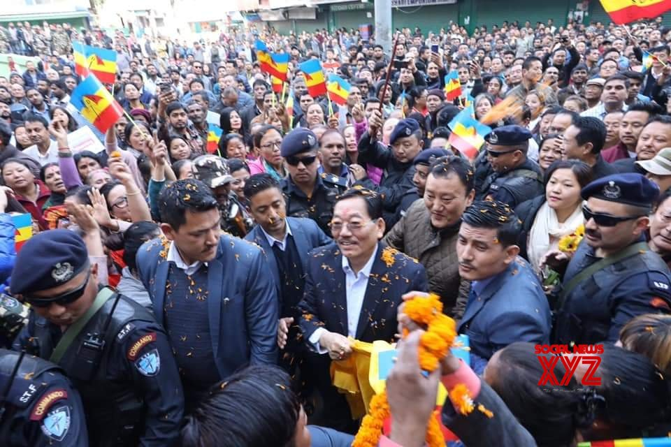 Namchi: Chamling kicks off election campaign in Sikkim #Gallery