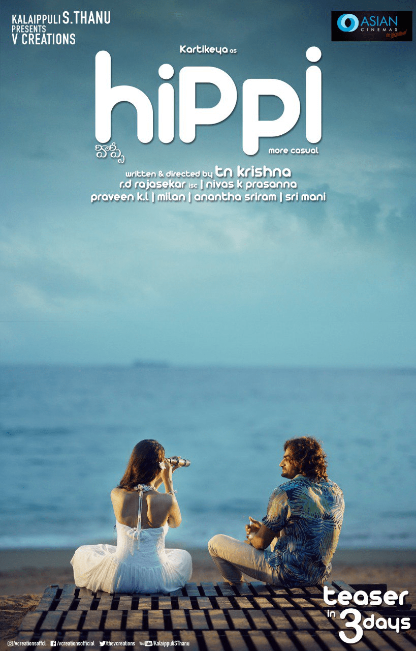 Hippi Teaser Will Be Out On 20th March
