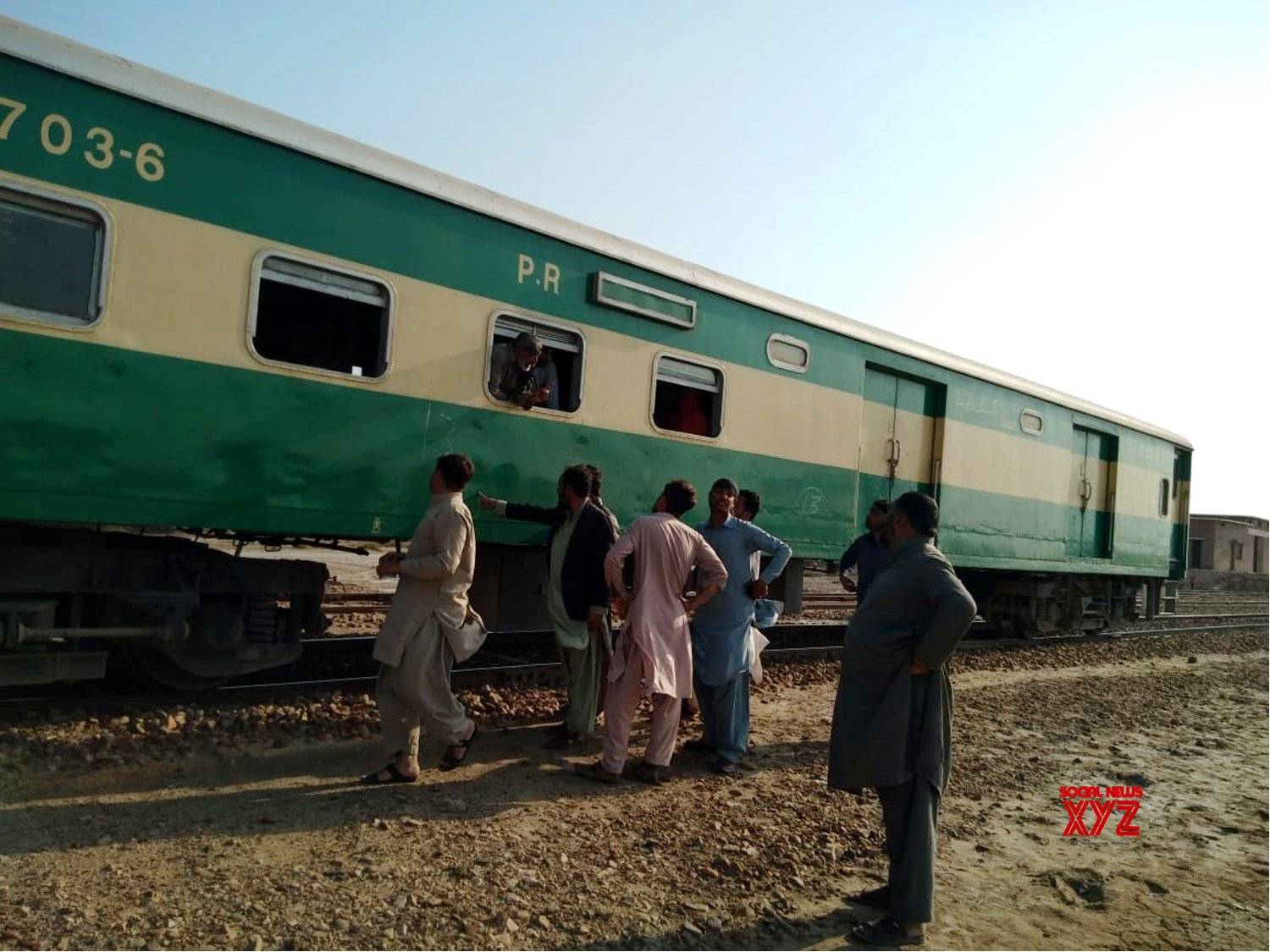 PAKISTAN - NASIRABAD - TRAIN - ATTACK #Gallery