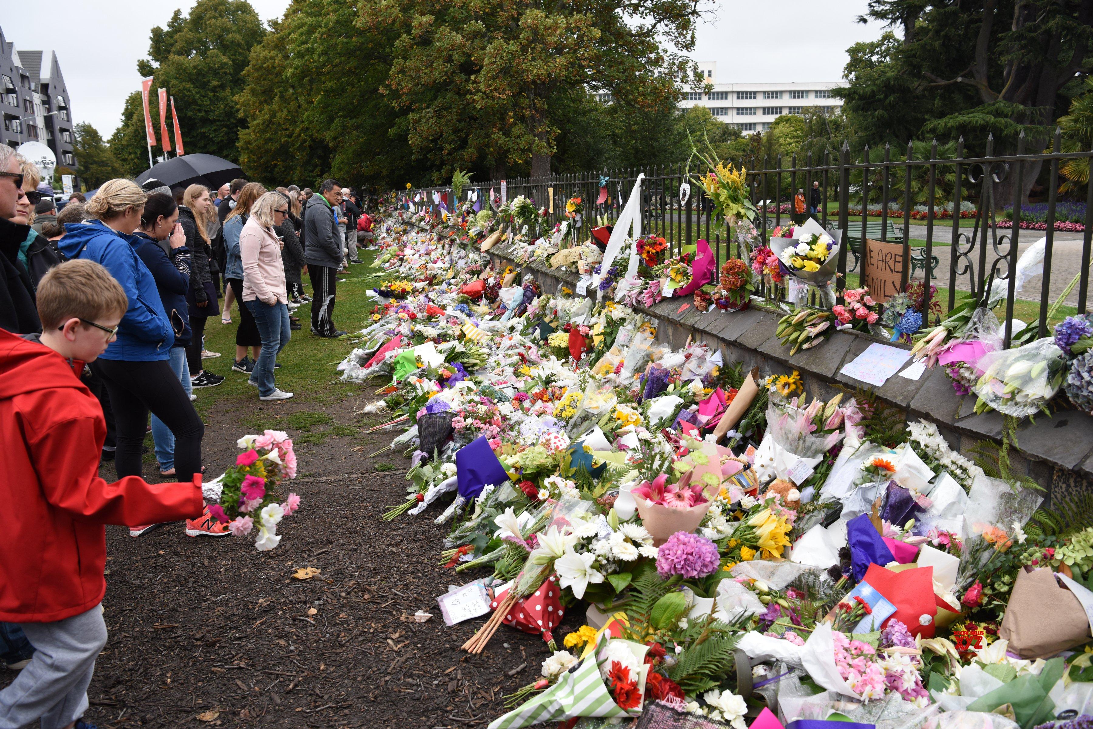 EW ZEALAND - CHRISTCHURCH - MOURNING #Gallery