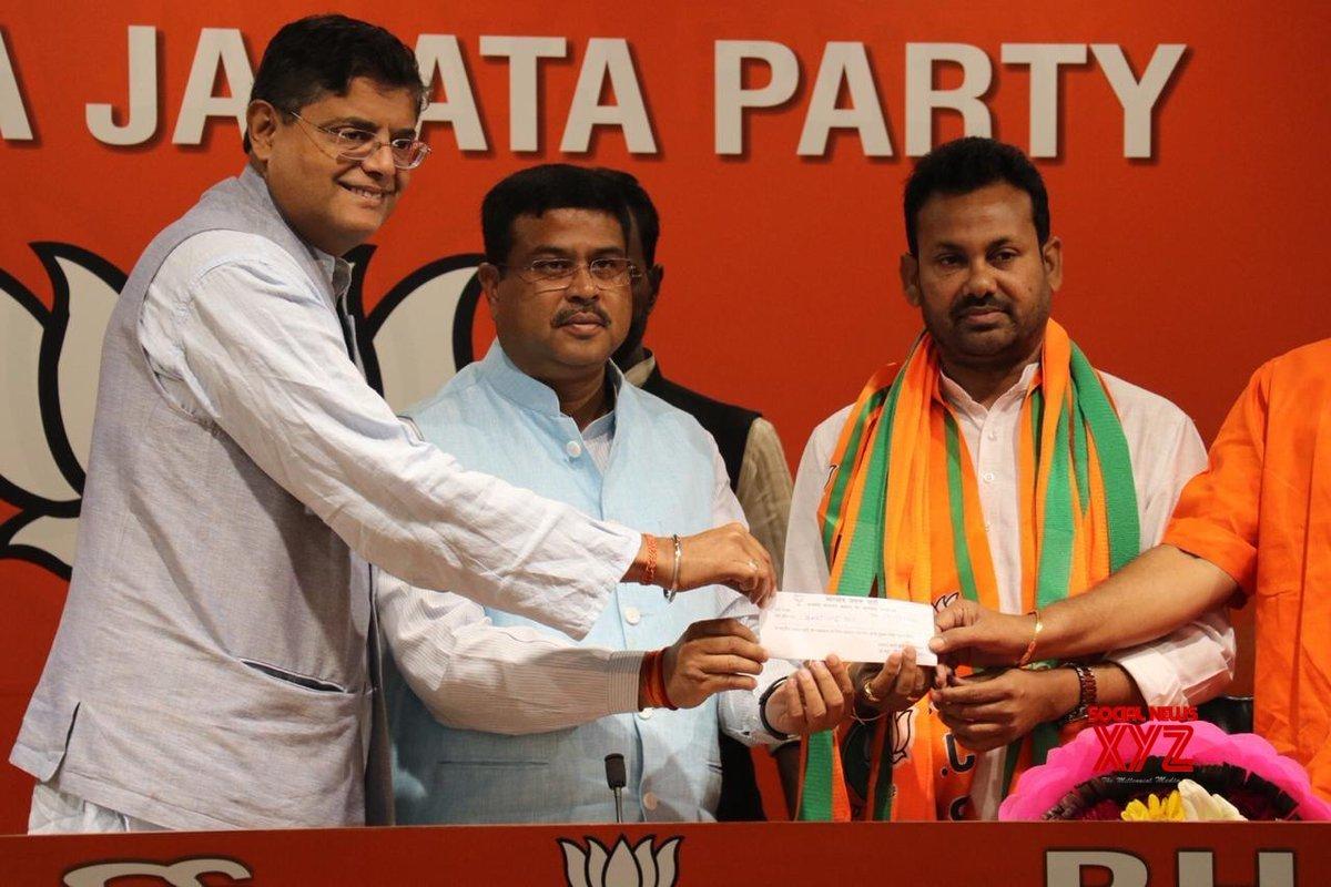 New Delhi: Prakash Chandra Behera joins BJP #Gallery