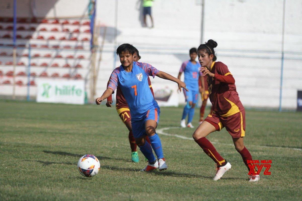 Biratnagar (Nepal): SAFF Women's Championship - India Vs Sri Lanka #Gallery