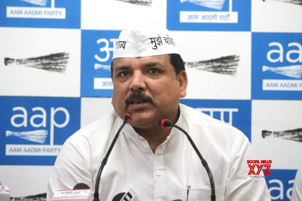 AAP slams NDA govt for not allowing CM to attend summit