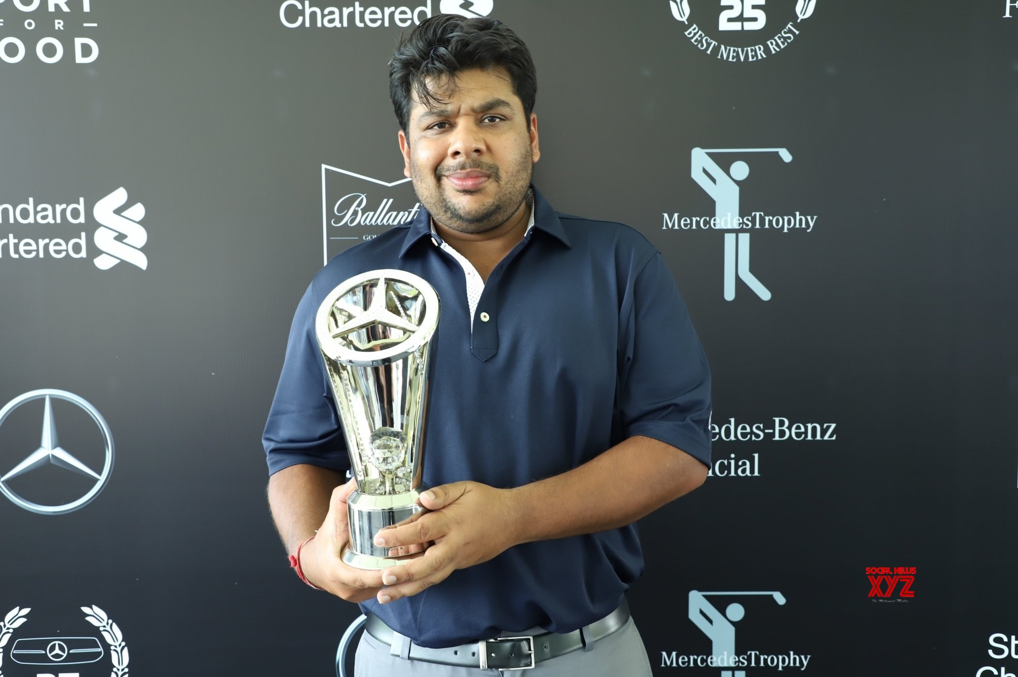 Sahil, Murad, Satish in MercedesTrophy World Final