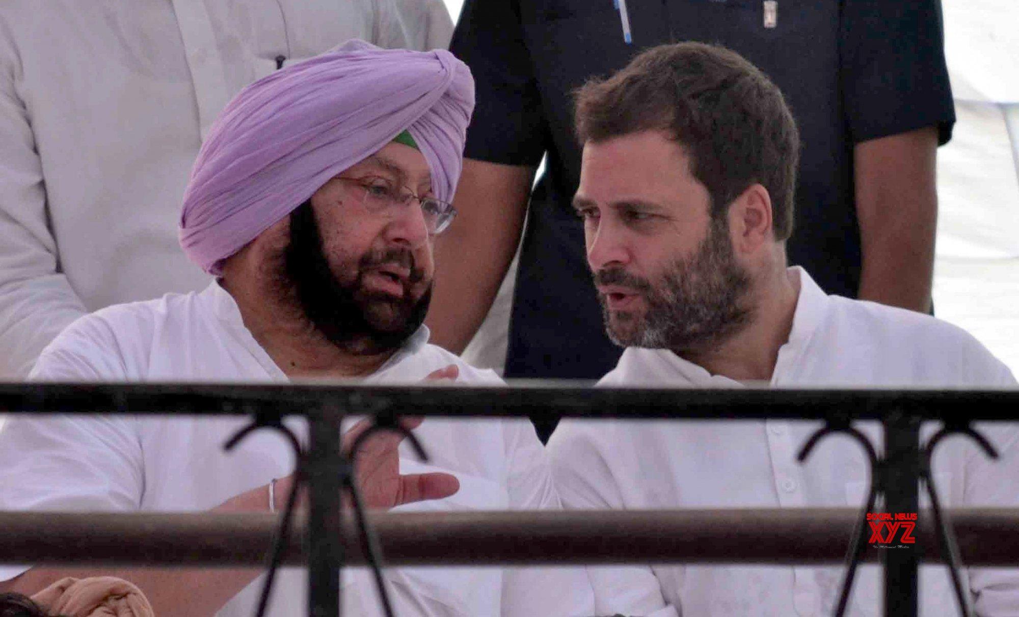 Punjab CM, Rahul vow to force Centre to revoke farm laws