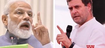 Narendra Modi and Rahul Gandhi. (File Photo: IANS)