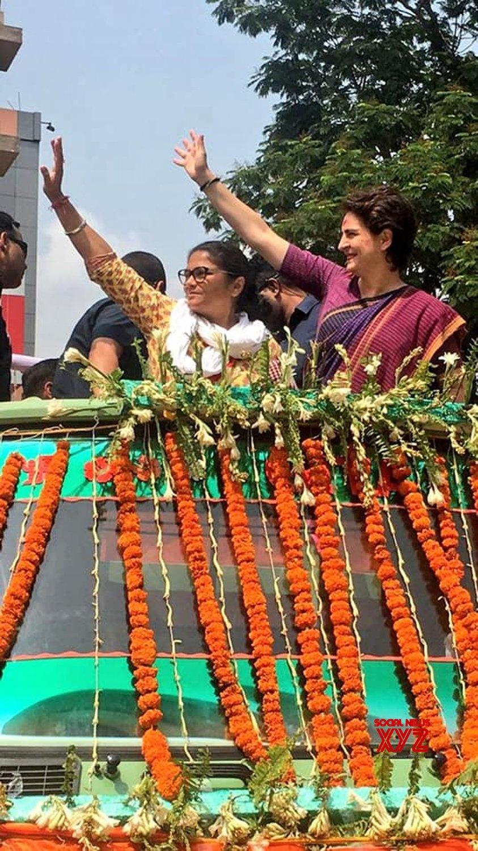Silchar: Priyanka Gandhi Vadra, Sushmita Dev's road show in