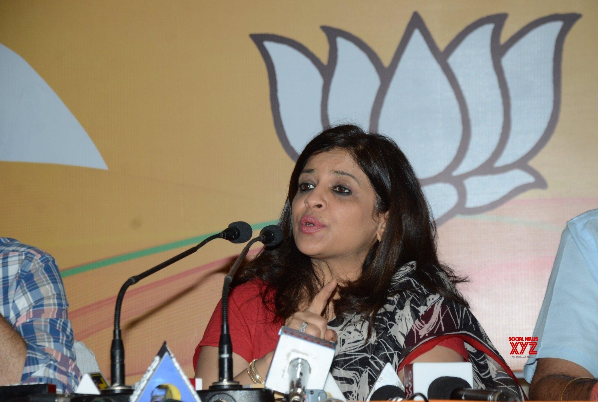New Delhi: Shazia Ilmi's press conference #Gallery