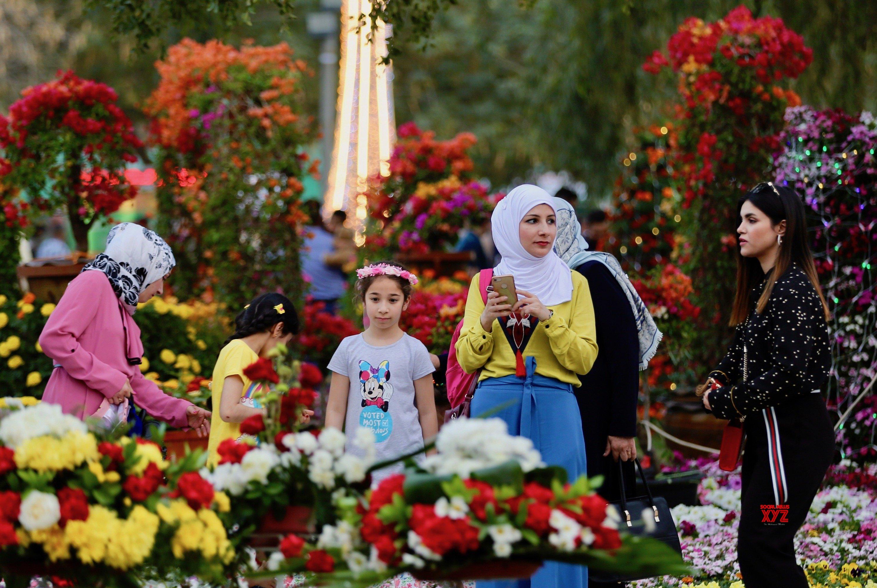 IRAQ - BAGHDAD - AL - ZAWRAA PARK - FLOWER FESTIVAL #Gallery