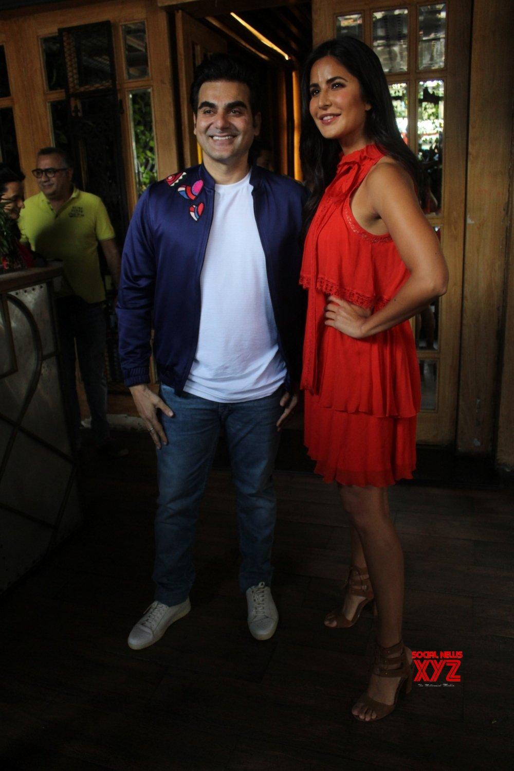 "Mumbai: Katrina Kaif at Arbaaz Khan's talk show ""Pinch"" sets (Batch - 2) #Gallery"