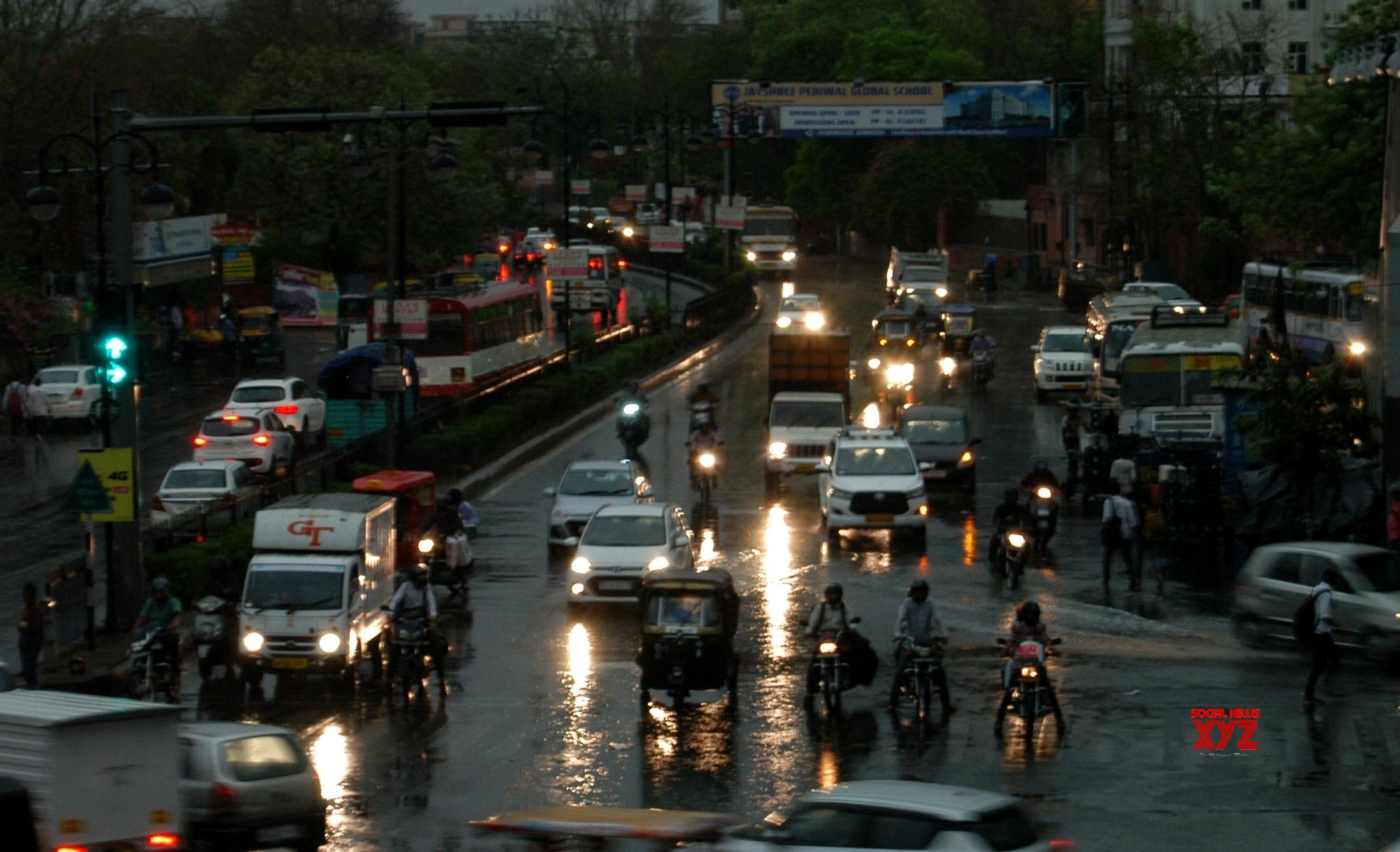 Jaipur: Rains #Gallery
