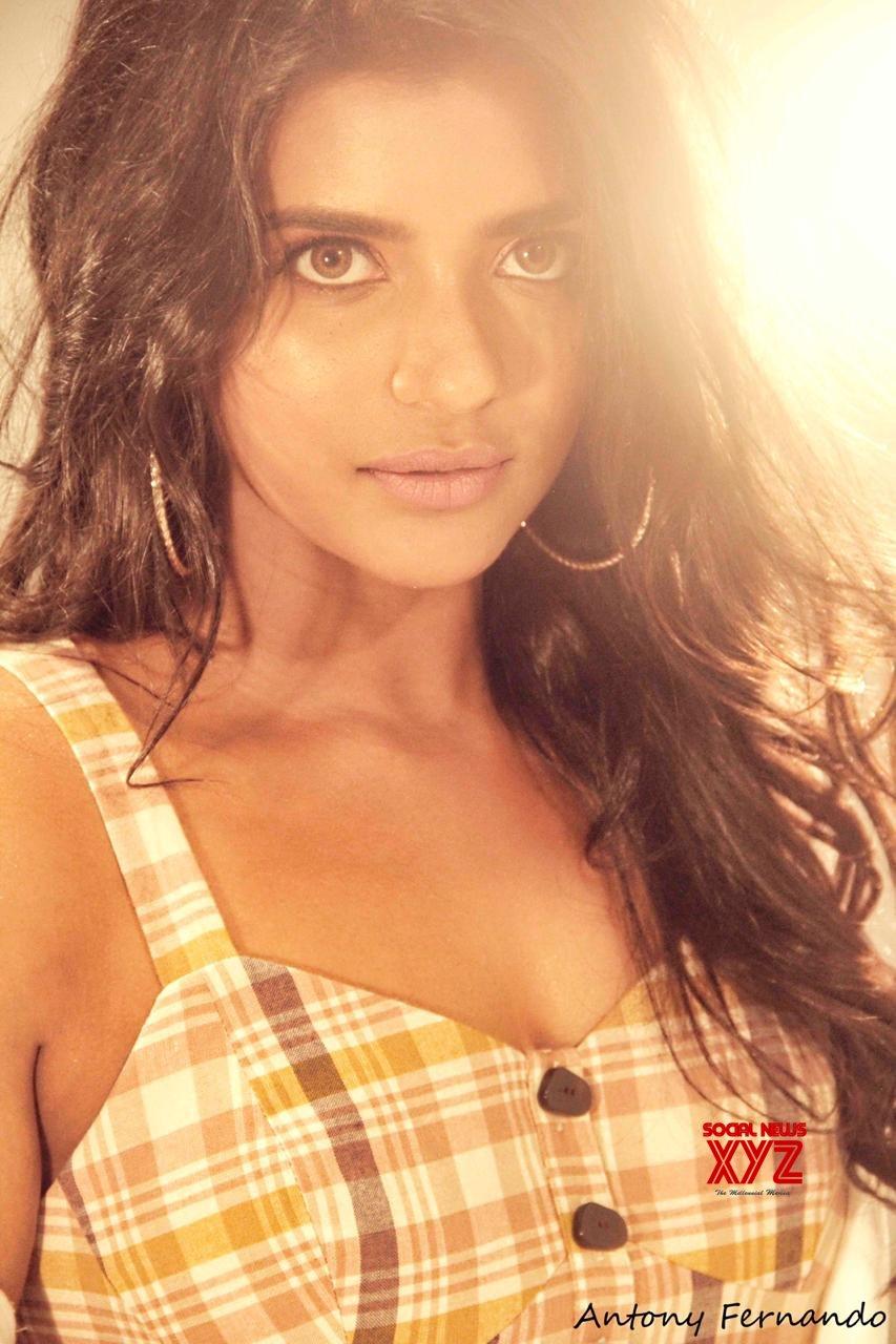 Actress Aishwarya Rajesh Striking New Photo Shoot Stills