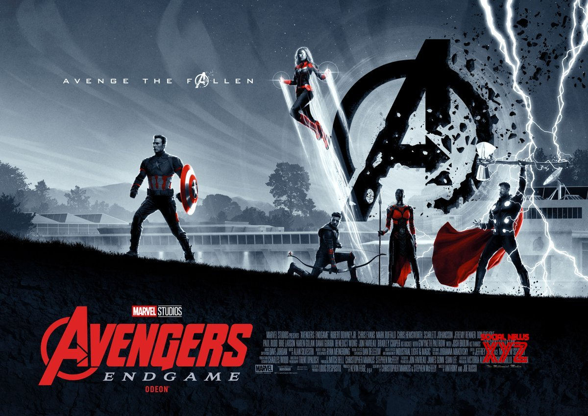 Avengers: Endgame Movie New Posters Created By Cakes Comics