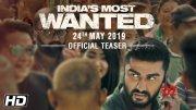 India's Most Wanted | Official Teaser | Arjun Kapoor | Raj Kumar Gupta | 24th May 2019 (Video)