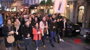 French hold vigil at Place Saint Michel  (Video)