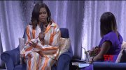 Michelle Obama reveals 'disbelief' over Paris fire  (Video)