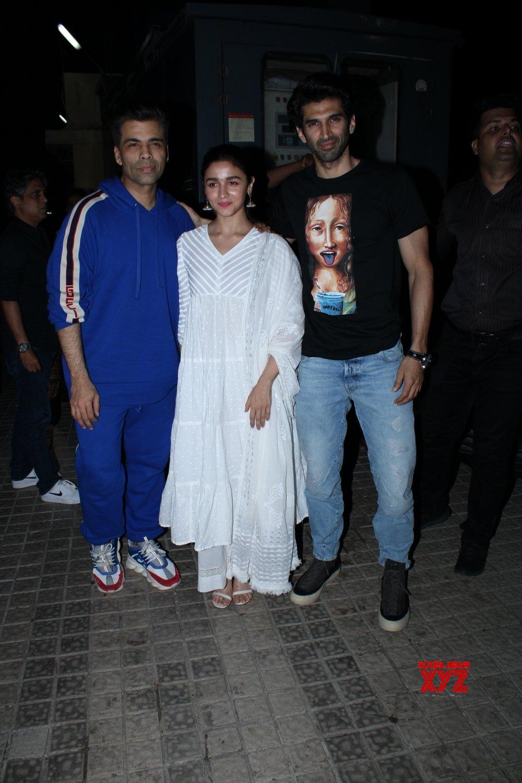 "Mumbai: Film ""Kalank"" screening (Batch - 2) #Gallery"
