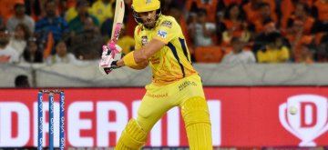 Hyderabad: Chennai Super Kings' Faf du Plessis in action during the 33rd match of IPL 2019 between Sunrisers Hyderabad and Chennai Super Kings at Rajiv Gandhi International Stadium in Hyderabad on April 17, 2019. (Photo: IANS)