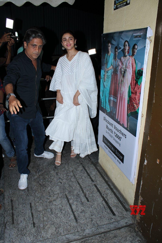 """Mumbai: Film """"Kalank"""" screening #Gallery"""