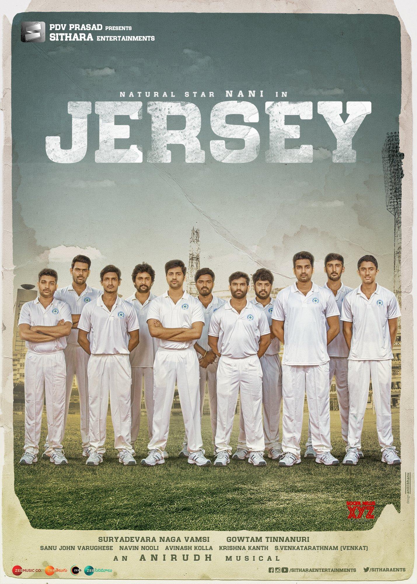 Nani's JERSEY Movie Super HD Posters