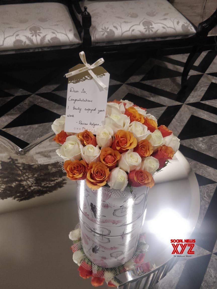 Pawan Kalyan Sends Flower Bouquets To Chitralahari Team