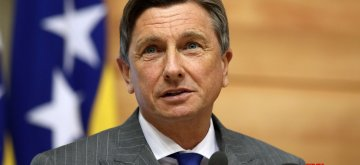 "SARAJEVO, April 17, 2019 (Xinhua) -- Slovenian President Borut Pahor speaks at the opening ceremony of the 10th International Investment Conference Sarajevo Business Forum in Sarajevo, Bosnia and Herzegovina, on April 17, 2019. The 10th International Investment Conference Sarajevo Business Forum (SBF) officially started in Bosnia and Herzegovina's (BiH's) capital Sarajevo on Wednesday under ""One Region One Economy"" slogan. During the opening ceremony, Chairman of BiH's Presidency Milorad Dodik emphasized that BiH is a stable country for business. (Xinhua/Nedim Grabovica/IANS)"