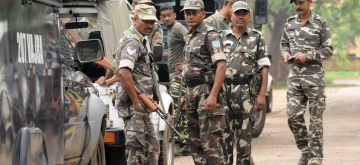 Ranchi: Security beefed up after a CRPF trooper and a Jharkhand policeman were killed during a shootout with Maoists in Khuti district; in Ranchi on June 7, 2018. (Photo: IANS)