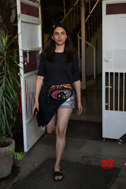 Mumbai: Aditi Rao Hydari seen at a health club #Gallery