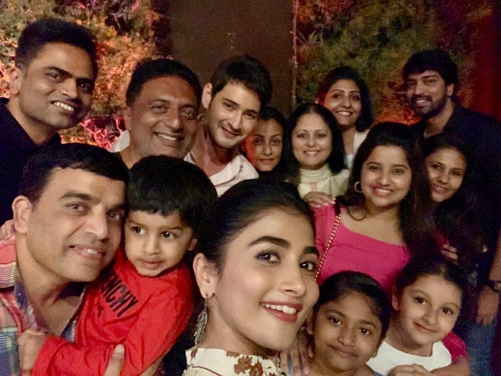 Maharshi Team Party Stills