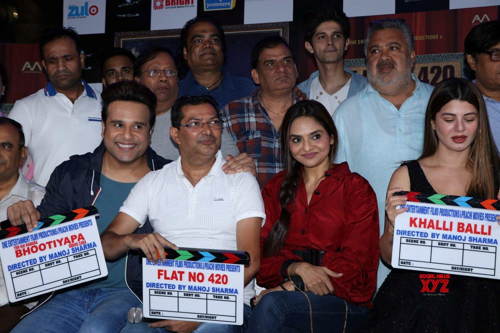 Mumbai: One entertainment film productions and Prachi movies announce 3 films - Khalli Balli, Bhutiyapa and Flat No 420 #Gallery