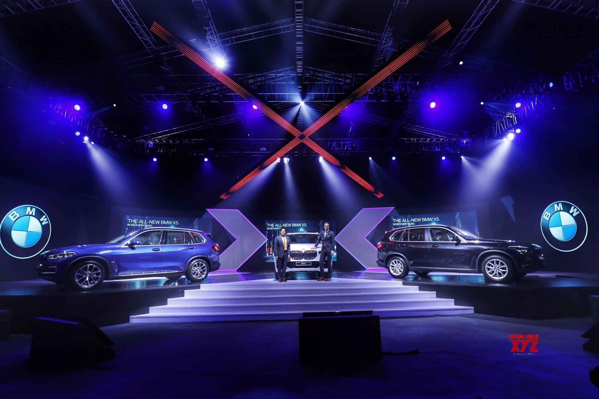 Mumbai: Sachin Tendulkar launches the all - new BMW X5 #Gallery